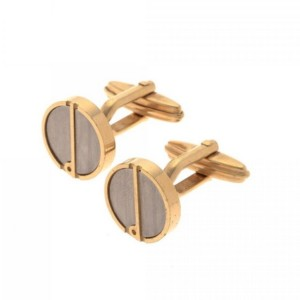 Gold Plated Cufflinls by Dunhill of