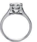 18 k Engagement Ring